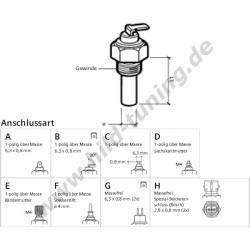 Öltemperaturgeber VDO Öl-Temperaturgeber M14 x 1,5
