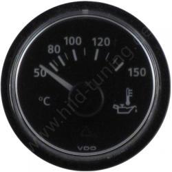 VDO Viewline Öltemperaturanzeige 50 - 150 Grad schwarz - 12 Volt