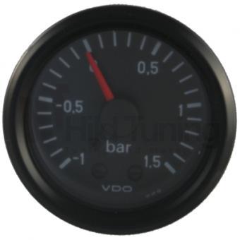 VDO Cockpit Ladedruckanzeige -1 - 1,5 Bar