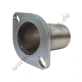 Auspuff Flansch 57 mm 2 Loch
