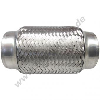 Auspuff Flexrohr 55 mm x 200 mm Typ1 Edelstahl