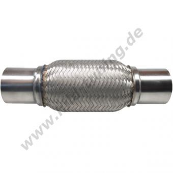 Auspuff Flexrohr 45 mm x 200 mm Typ4 Edelstahl