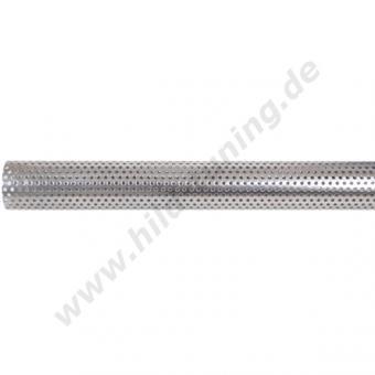 Edelstahl Auspuff Siebrohr 48 mm 0,5 Meter