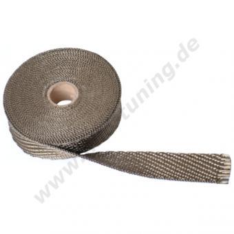Basalt Auspuff Hitzeschutzband 30 mm | 15 m