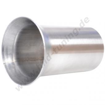 Edelstahl Auspuff Tulpe 60 mm