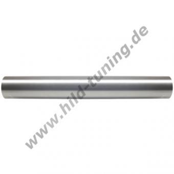 Edelstahl Auspuffrohr 57 mm / 2,25 Zoll 500 | ohne Muffe
