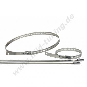 Thermotec Snap Strap - Hochtemperaturschellen aus Edelstahl 6 x 22,86 cm - 4 x 45,72 cm
