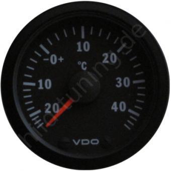 VDO Cockpit Vision Aussentemperaturanzeige -20 bis 40 Grad
