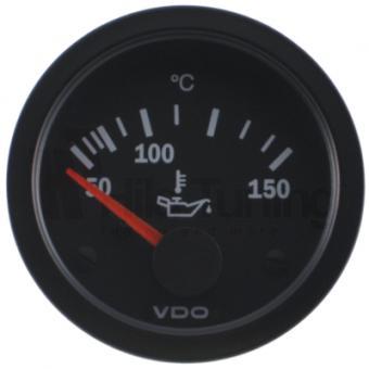 VDO Cockpit Vision Öltemperaturanzeige 50 bis 150 Grad