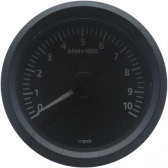 VDO Viewline Drehzahlmesser schwarz 85 mm