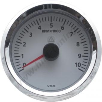VDO Viewline Drehzahlmesser weiß 85 mm