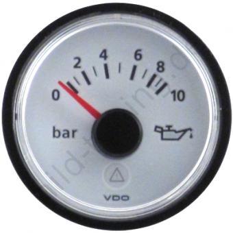 VDO Viewline Öldruckanzeige 10 Bar weiß