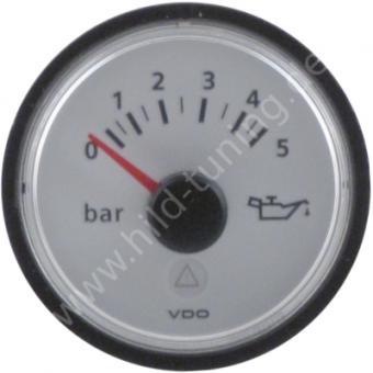 VDO Viewline Öldruckanzeige 5 Bar weiß