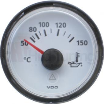 VDO Viewline Öltemperaturanzeige 50 - 150 Grad weiß