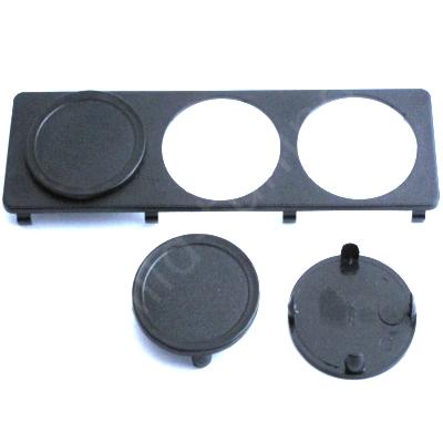 zusatzinstrumente halter passend f r din radio schacht. Black Bedroom Furniture Sets. Home Design Ideas